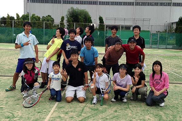 テニススクールイメージ画像