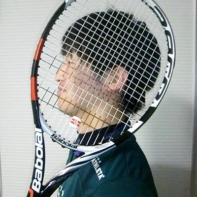 テニススクール生徒さん男性